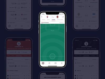 Sportening - Football lineup and stats sportening stats game milan goal football app soccer mobile mobile app lineup football match