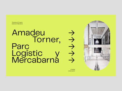 Amadeu Torner, Parc Logístic y Mercabarna modernist architecture modern design layout transition animation