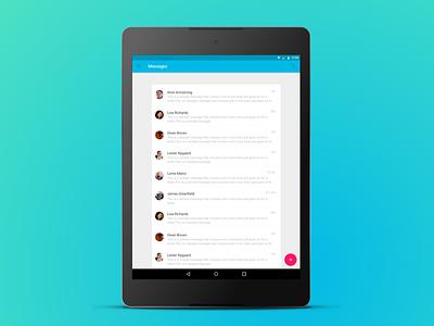 Nexus 9 for Sketch nexus 9 nine android messages template free sketch vector