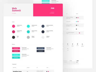 Project style guide template by Ivan Bjelajac - Dribbble