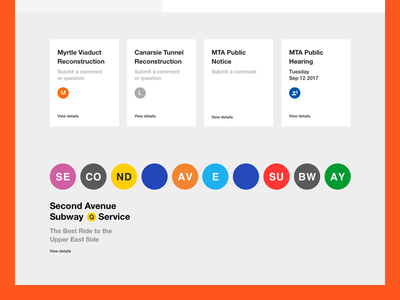 Metropolitan Transit Authority - Notices and banner new york transportation mta transit subway bus rail information