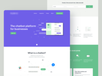 Chatbot service - Homepage