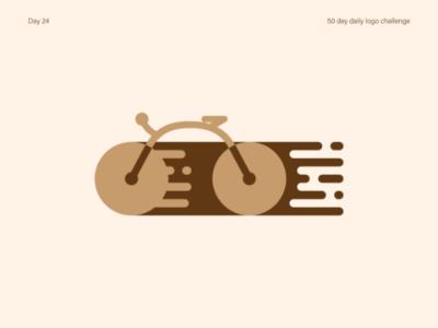 Bicycle logo speed bicycle vectorart logos logo dailylogodesign dailylogochallenge dailylogo illustrator vector illustration design