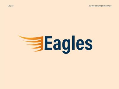 Sports team logo team sports eagles branding logos vectorart logo dailylogodesign dailylogochallenge dailylogo illustrator vector illustration design