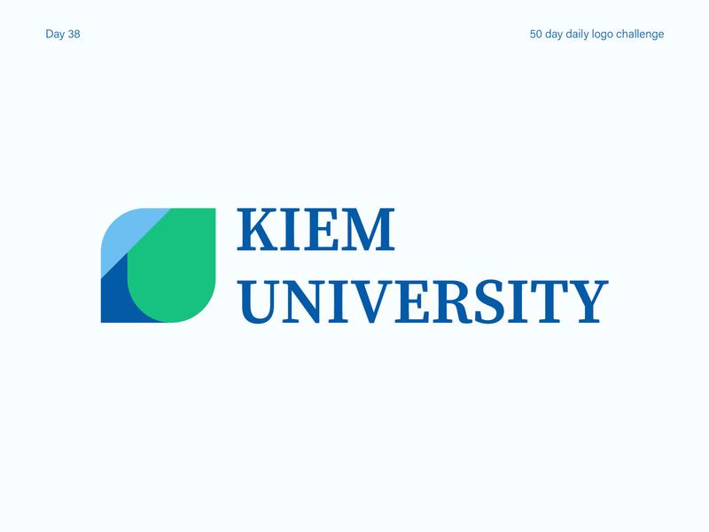 University Logo university logo branding logos vectorart logo dailylogodesign dailylogochallenge dailylogo illustrator vector illustration design