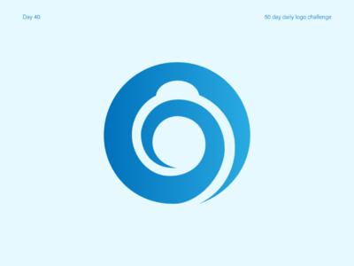Camera App Logo lenscap vectorart illustration minimal cameraapplogo cameraapp applogo logos dailylogo dailylogochallenge
