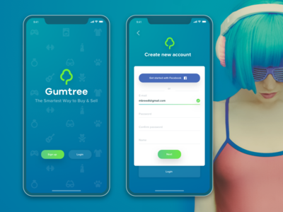 Gumtree signup