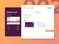 Zando Credit Card Checkout