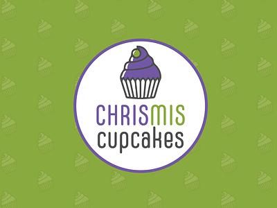 ChrisMis Cupcakes Branding illustrator brand styleguide logo design brand identity brand design branding design branding