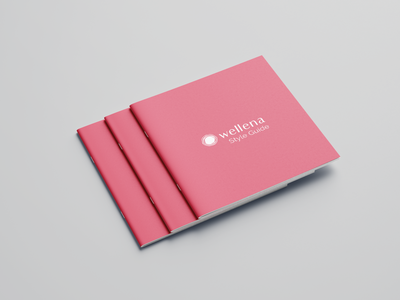 Branding / Style guide styleguides branding and identity branding design layout styleguide branding