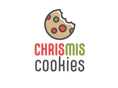 ChrisMis Cookies logo graphic design vector art adobe illustrator cookies logos branding logo design logo