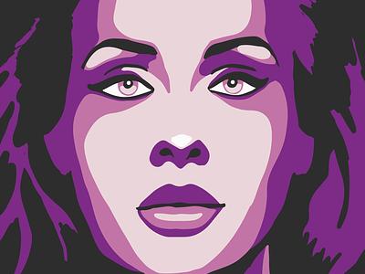 Adele portrait creative vector color adobe adobeillustrator drawing illustrator art illustration