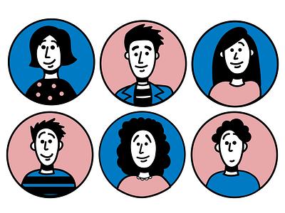 Character Illustrations creative adobeillustrator illustrator design drawing web graphics vector art illustration character design