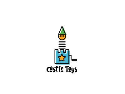 Logo Design: Castle Toys design branding creative logos illustrator logodesigns toys castle logo logo design