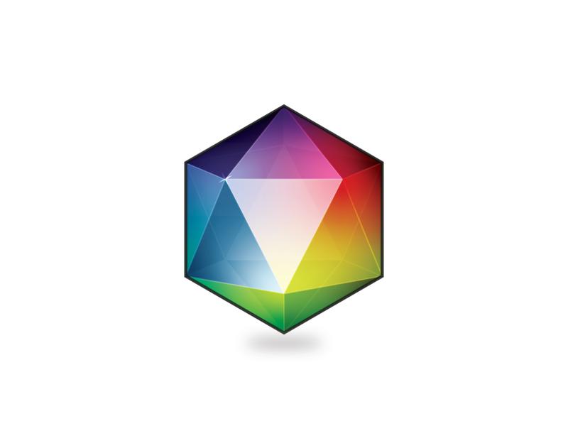 Multicolored Gem gem vector design color illustrator art illustration