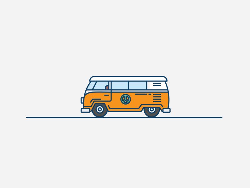 Illustrations of Cars volkswagen creative art drawing mini cooper jeep vw cars illustration