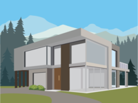Dream home illustration