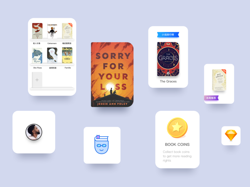 YOU-Fiction UI icon logo illustration badge logo app ui design