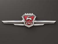 GAZ-21 Volga emblem