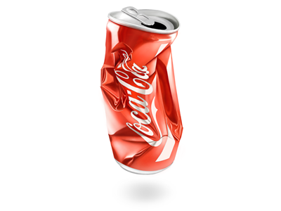 Cola red cola illustration glossy delicious fun sweetness not.3d