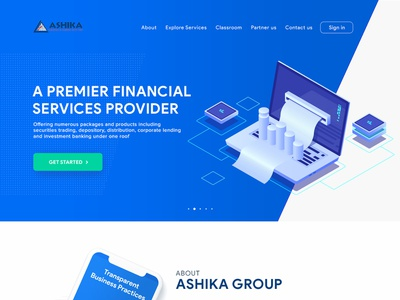 Finance webdesign finance business illustration interface design travel website ui ux clean