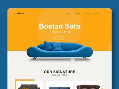 Ecommerce Template adobexd ecommerce interaction simple concept website minimal ux ui clean
