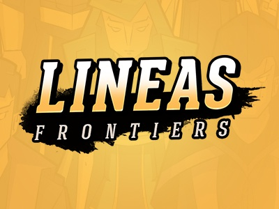 Logo Lineas Frontiers game iphone android ios puzzle game rpg mangas