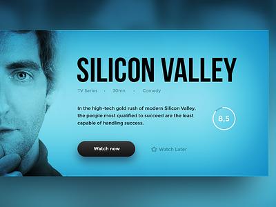 Movie Card silicon valley movie card
