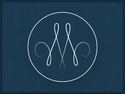 Logo M font typography logo