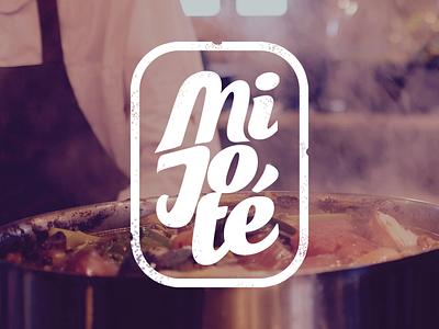 "Logo ""Mijoté"" photoshop cooking mijoté logo"