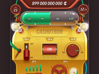 Cashotron clicker photoshop smartphone mobile game