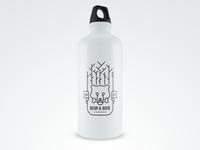 Bear & Bone Sports Bottle Mockup