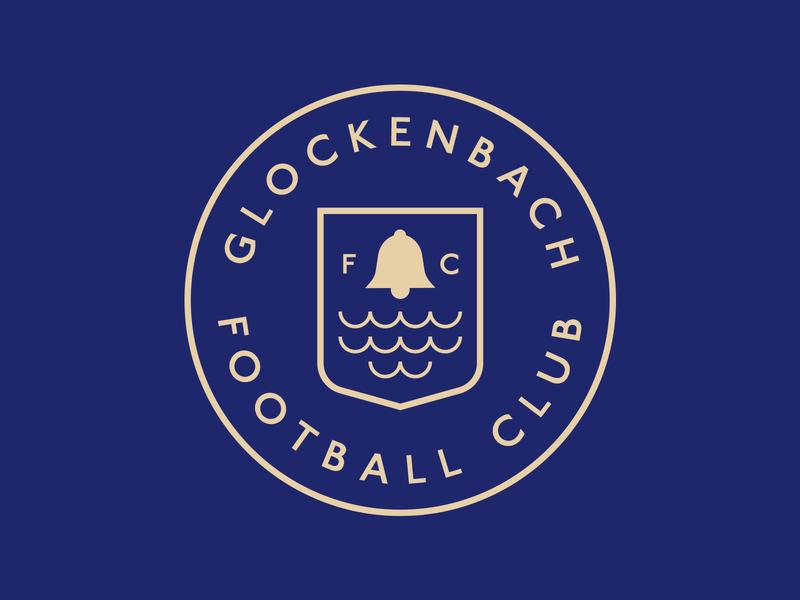 Glockenback Football Club soccer fantasy illustrator badge football logo football