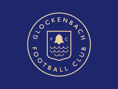 Glockenback Football Club soccer fantasy illustrator badge football logo football