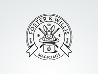 Foster & Willis Magicians - Fantasy Vintage Logo