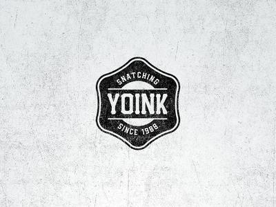 Yoink Vintage Badge