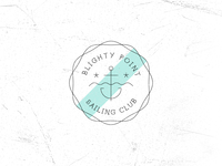 Vintage Fantasy Sailing Club Logo