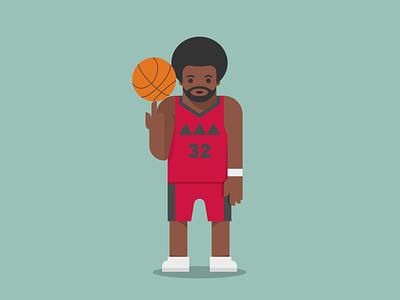 Customizable Puppet Baller Exploration simple illustrator character player custom basketball