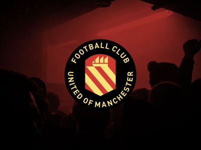 My take on Football Club United Of Manchester badge crest fc manchester badge logo soccer football