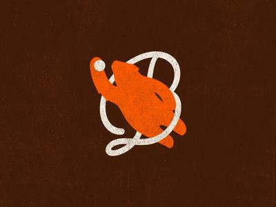 Bears Vintage Baseball Logo Practice