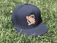 Bears Vintage Baseball Logo on hat
