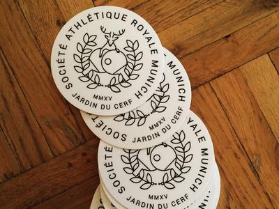 Jardin du Cerf Logo Stickers