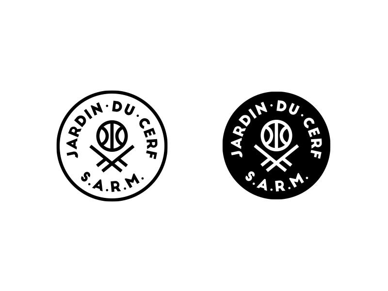 Jardin du Cerf Alternate Hoops Logo by Mathias Temmen on