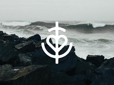 Anchor Logo Practice maritime sea heart logo anchor