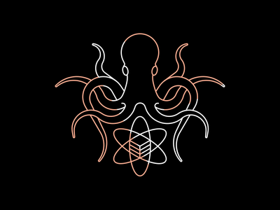 Logo for our Data Science Team octopus logo octopus science data kraken