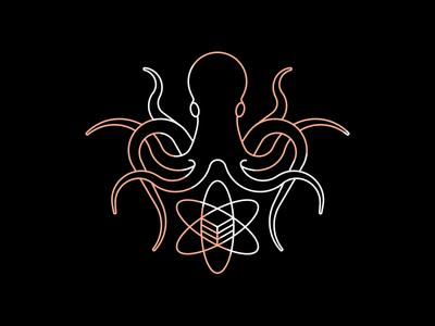 Logo for our Data Science Team octopus logo octopus science data kraken