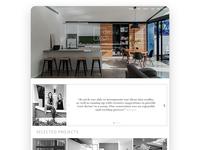 De Arch Website Design Concept