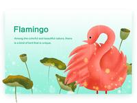 Illustration Exercise - Flamingo