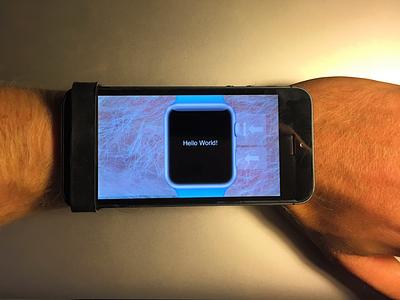My WatchKit Prototyping Tool apple watch watchkit watch