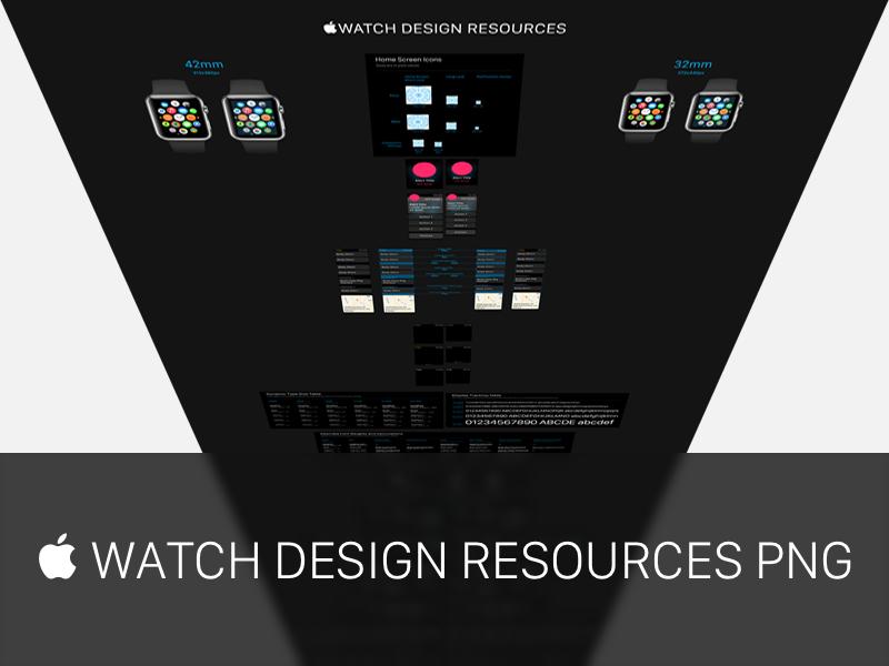  WATCH DESIGN RESOURCES PNG apple watch apple watch